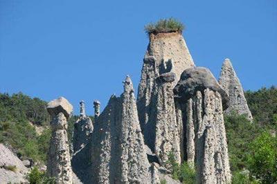 Les demoiselles coiffées - Hautes-Alpes