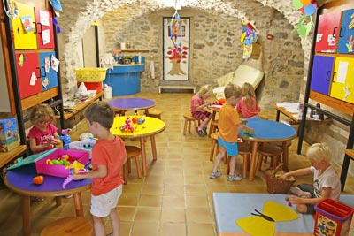 Activité jardin d'enfants au village Chadenas à Embrun