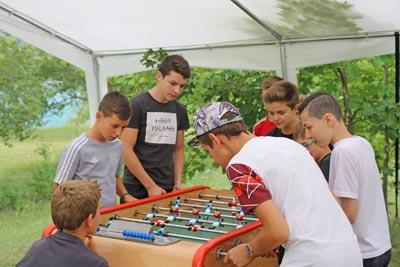 Activité pré-ados au village Chadenas à Embrun