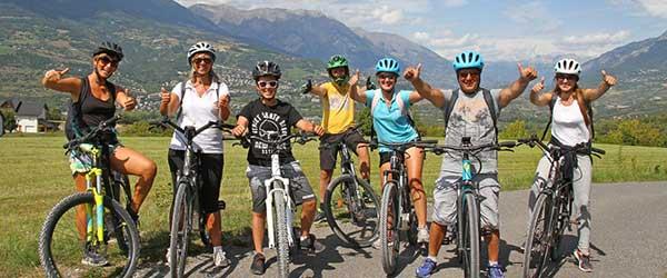 Activité vélo électrique avec le village Chadenas