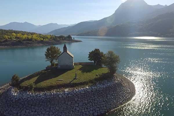 Baie Saint Michel Lac de Serre-Ponçon