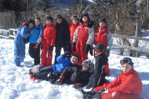 Groupes scolaires en séjour neige au village Chadenas