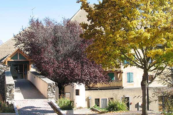 Village Chadenas en automne