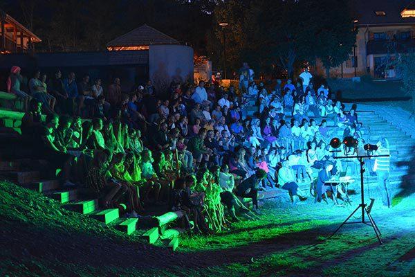 Activité nocturne au village Chadenas à Embrun