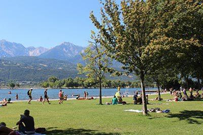 Plan d'eau d'Embrun - Hautes-Alpes