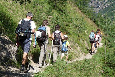 Randonnée en famille dans les Hautes-Alpes
